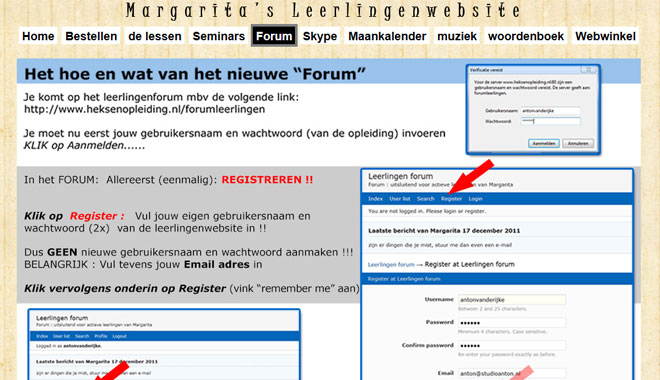 nieuwe email adres